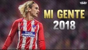 Video: Antoine Griezmann - Mi Gente ? Skills & Goals 2018 [HD]